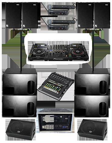 Комплект звука XL