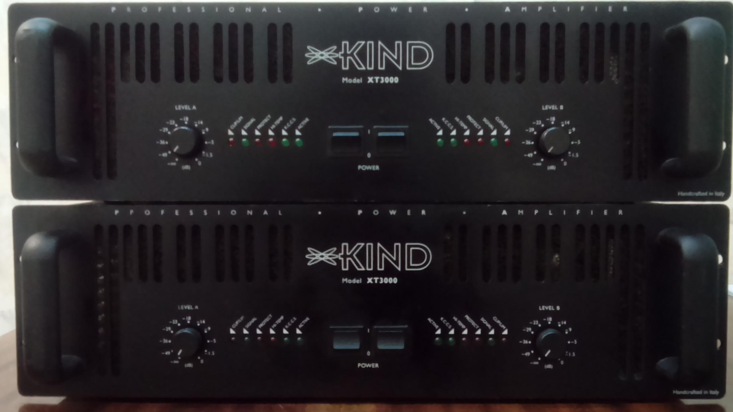 Усилитель мощности KIND AUDIO XT3000