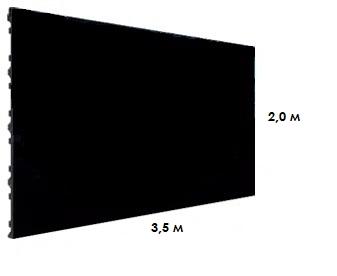 Светодиодный экран P2 DW2 2.9 (3.5х2.0м)