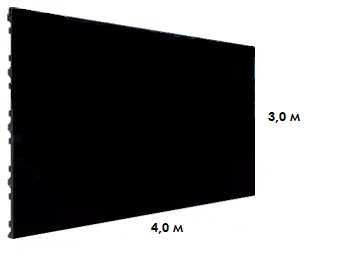 Светодиодный экран P2 DW2 2.9 (4.0х3.0м)