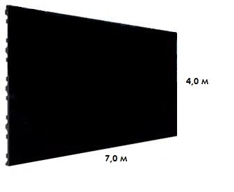Светодиодный led экран P3 YX P 3.91 (7.0х4.0м)