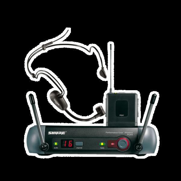 Головной микрофон (гарнитура) с радиосистемой Shure PGX14/20