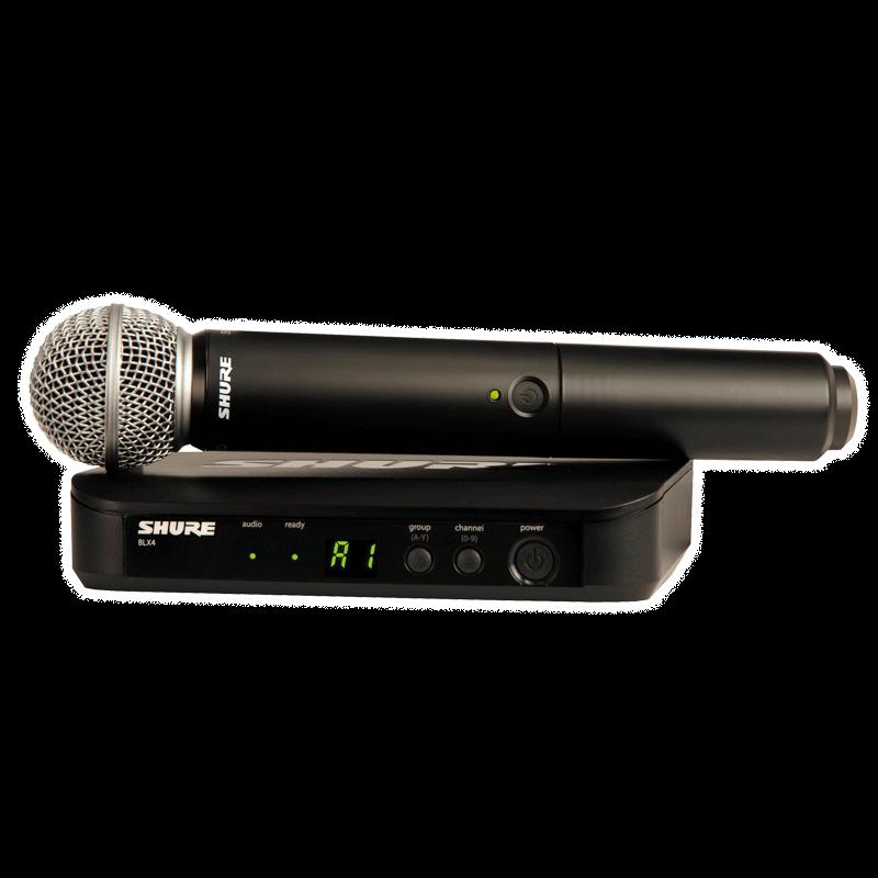 Микрофон с радиосистемой Shure BLX24E/SM58