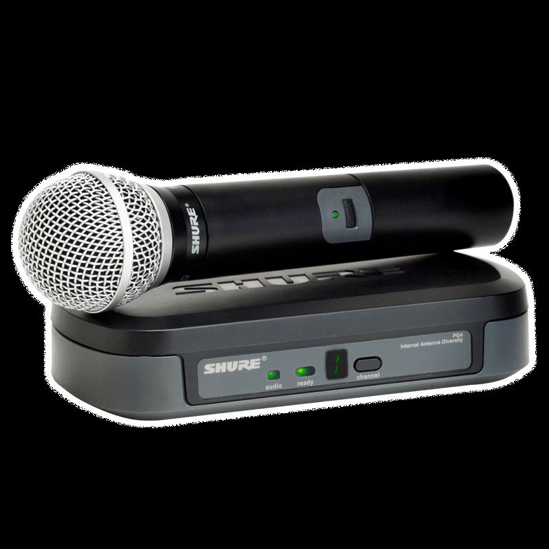 Микрофон с радиосистемой Shure PG24/PG58